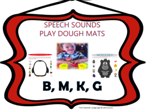 8-10-13 Play Dough Mats-B,M, K, & G